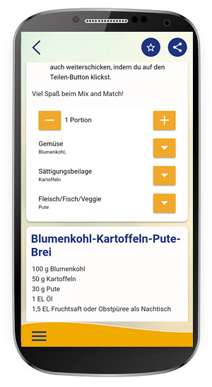 App Screenshot Breikalkulator